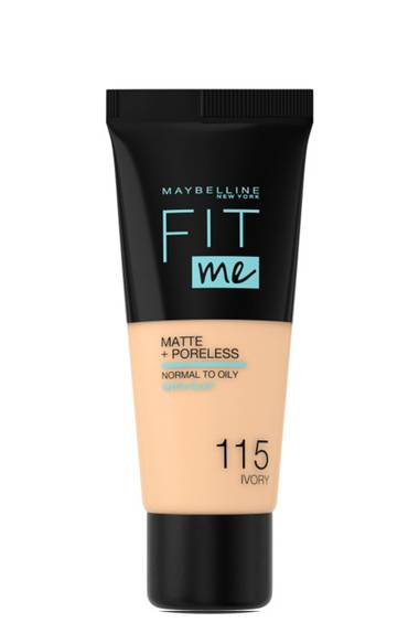 FIT ME MATTE + PORELESS FONDÖTEN
